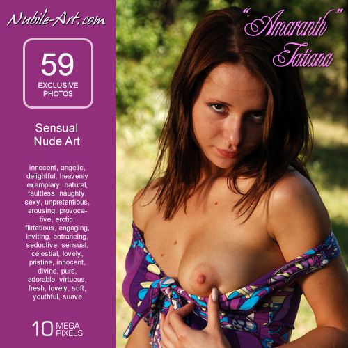Tatiana - `Amaranth` - for NUBILE-ART