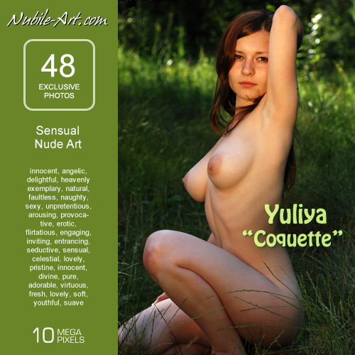 Yuliya in Coquette gallery from NUBILE-ART