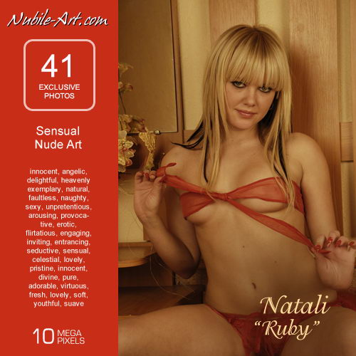 Natali - `Ruby` - for NUBILE-ART