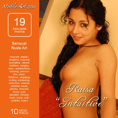 Raisa in Intuitive gallery from NUBILE-ART