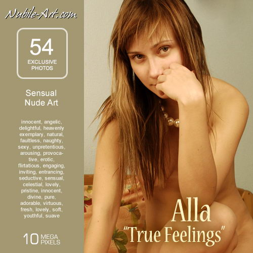 Alla in True Feelings gallery from NUBILE-ART