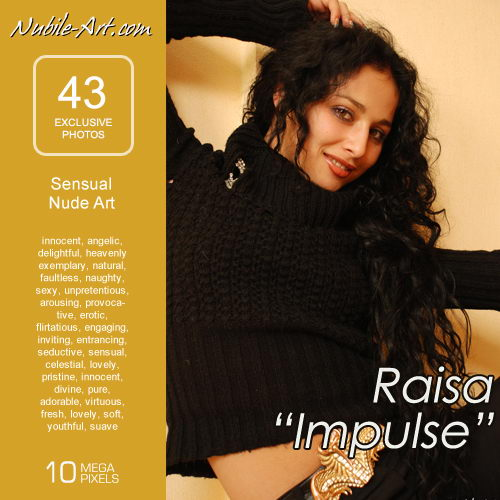 Raisa - `Impulse` - for NUBILE-ART