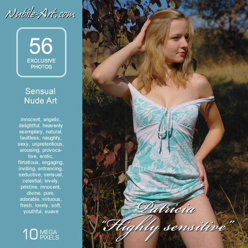 Patricia - `Highly Sensitive` - for NUBILE-ART
