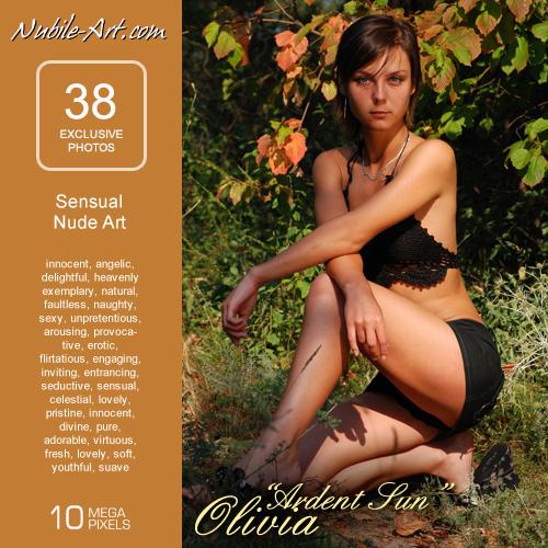 Olivia - `Ardent Sun` - for NUBILE-ART