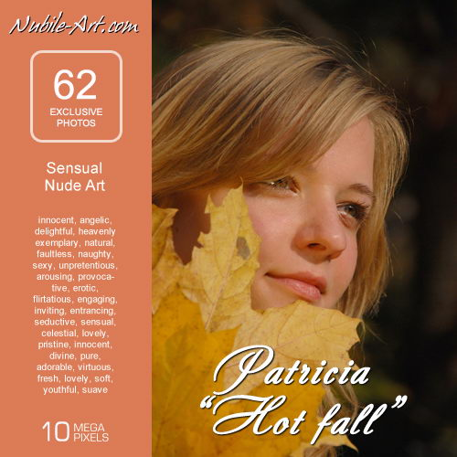 Patricia - `Hot Fall` - for NUBILE-ART