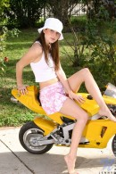 Jenny in Bike gallery from NUBILES