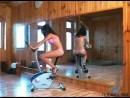 Venus in Exercisebike video from NUBILES