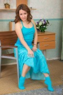Leana in Bright Blue gallery from NUBILES
