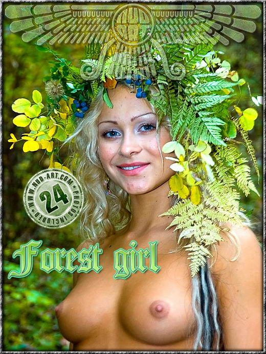 Albina - `Forest Girl` - by Serg Kedrov for NUD-ART
