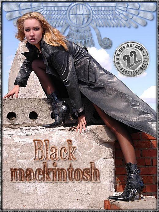 Katyusha - `Black Mackintosh` - by Sergio for NUD-ART