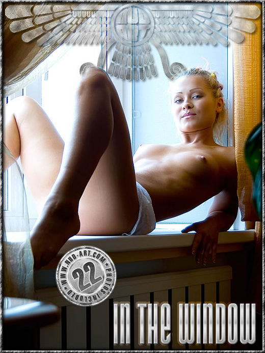 Albina - `In The Window` - by Serg Kedrov for NUD-ART