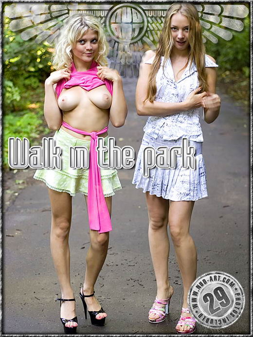 Barbara & Valya - `Walk In The Park` - by Alexander Lobanov for NUD-ART