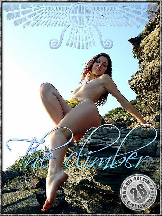 Anya - `The Climber` - by Serg Kedrov for NUD-ART