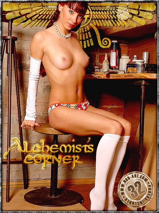 Ira - `Alchemists Corner` - by Inga Michalevskaya for NUD-ART