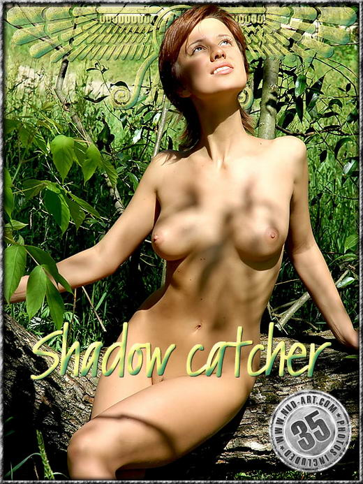 Ania - `Shadow Catcher` - by Inga Michalevskaya for NUD-ART