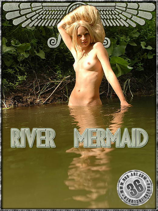 Adel - `River Mermaid` - by Sergio for NUD-ART