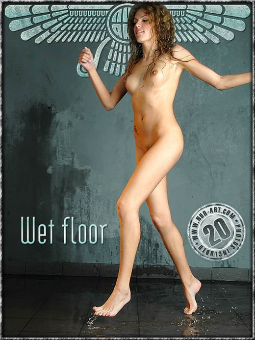 Masha - `Wet Floor` - by Dan Sway for NUD-ART