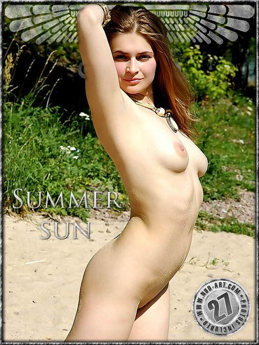 Kseniya - `Summer Sun` - by Inga Michalevskaya for NUD-ART