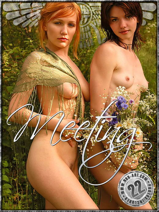 Elena & Nina - `Meeting` - by Sergio for NUD-ART