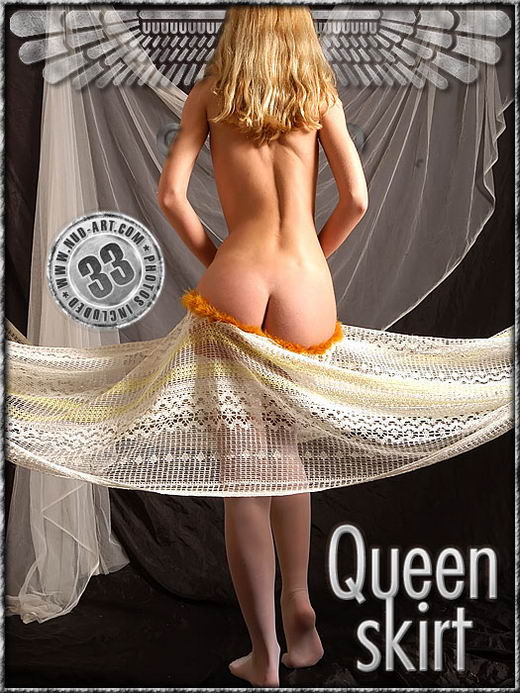 Skeri - `Queen Skirt` - by Sergio for NUD-ART