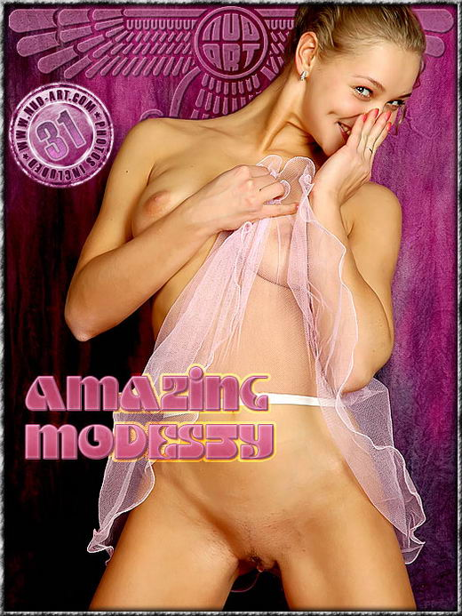 Sindy - `Amazing Modesty` - by Inga Michalevskaya for NUD-ART