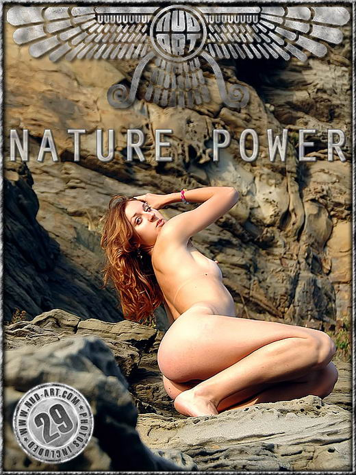 Anya - `Nature Power` - by Serg Kedrov for NUD-ART