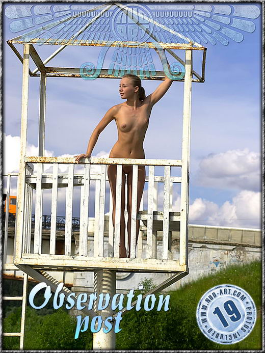 Barbara - `Observation Post` - by Alexander Lobanov for NUD-ART
