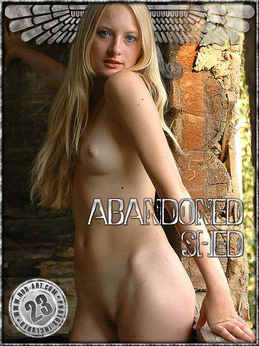 Adel - `Abandoned Shed` - by Sergio for NUD-ART