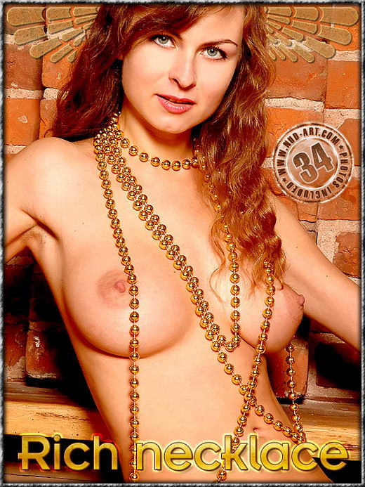 Inna - `Rich Necklace` - by Inga Michalevskaya for NUD-ART