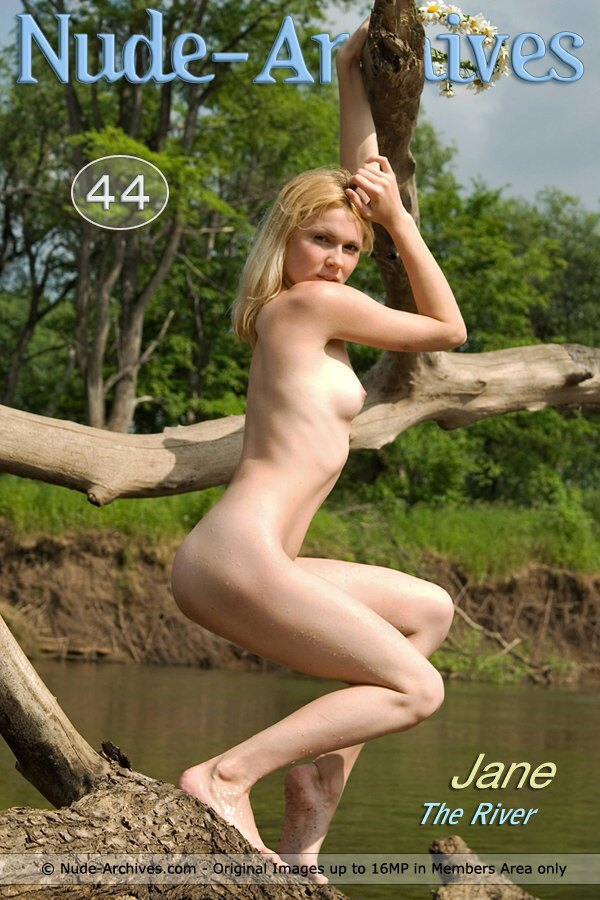 Jane - `The River` - by Nud Ero for NUDE-ARCHIVES