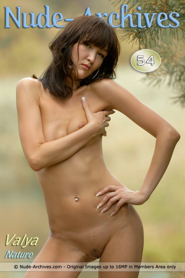 Valya - `Valya In The Country` - for NUDE-ARCHIVES
