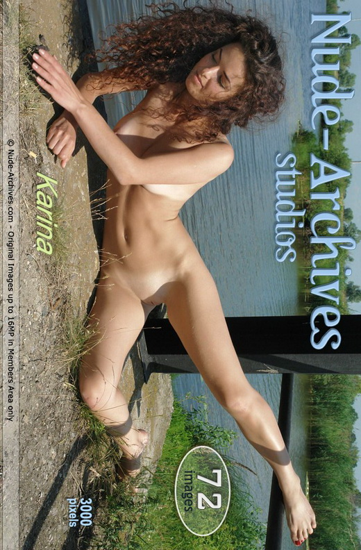 Karina M - `By The Lake` - for NUDE-ARCHIVES