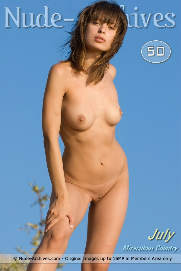 July - `Miraculous Country` - by Max Asolo for NUDE-ARCHIVES