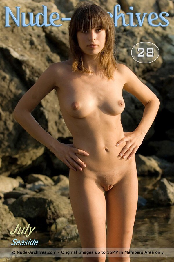 July - `Rocky Seaside` - for NUDE-ARCHIVES