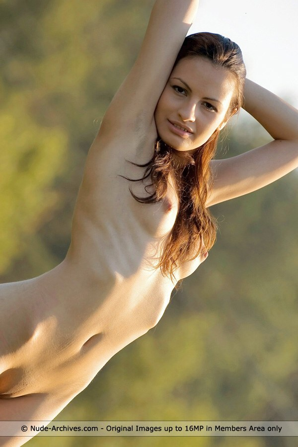 Sophia - `Green Country` - by Max Asolo for NUDE-ARCHIVES