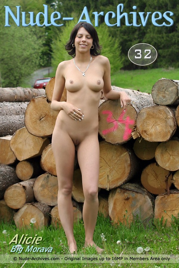 Alicie - `Big Morava Country` - by Jaromir for NUDE-ARCHIVES