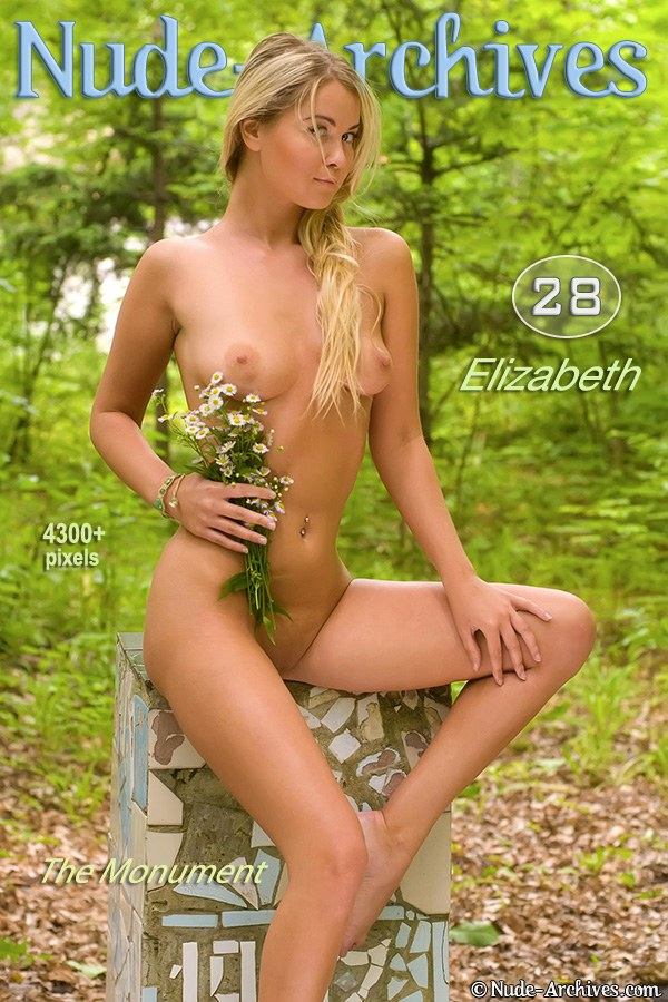 Elizabeth - `The Monument` - for NUDE-ARCHIVES
