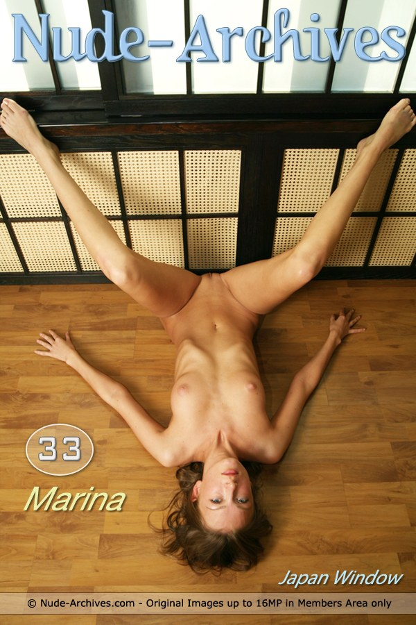 Marina - `Japan Window` - for NUDE-ARCHIVES