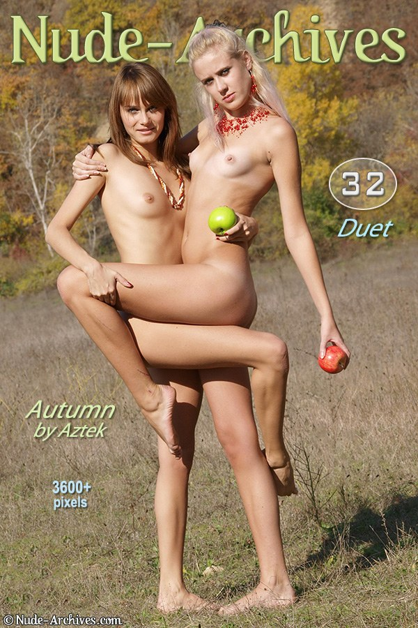 `Duet : Autumn` - for NUDE-ARCHIVES