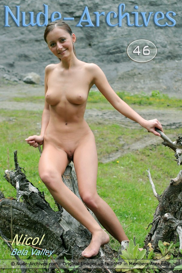Nicol - `Bela Valley` - by Jaromir for NUDE-ARCHIVES