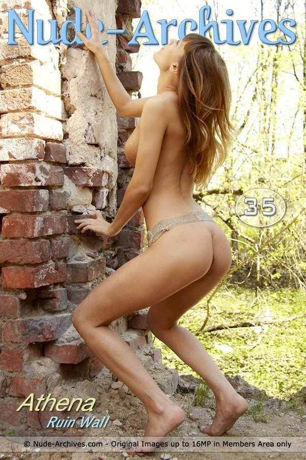 Athena - `Ruin Wall` - for NUDE-ARCHIVES