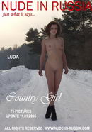 Luda in Country Girl gallery from NUDE-IN-RUSSIA