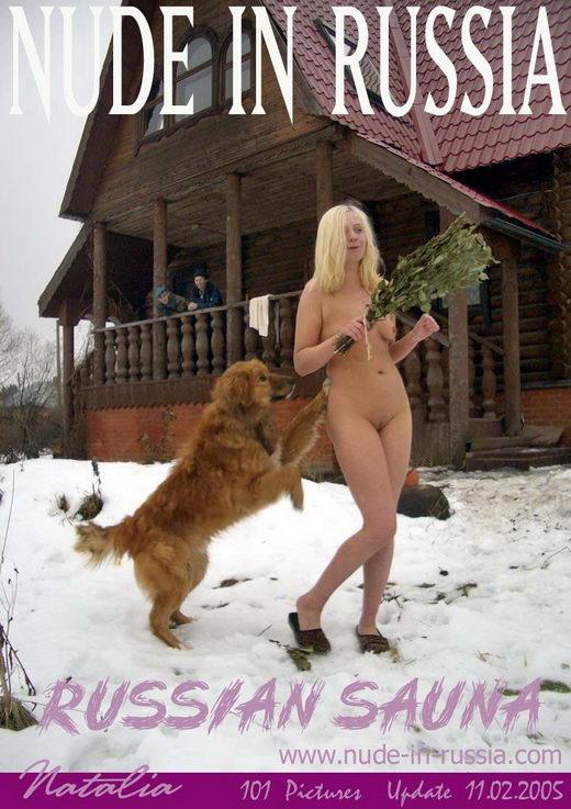Natalia - `Russian Sauna` - for NUDE-IN-RUSSIA