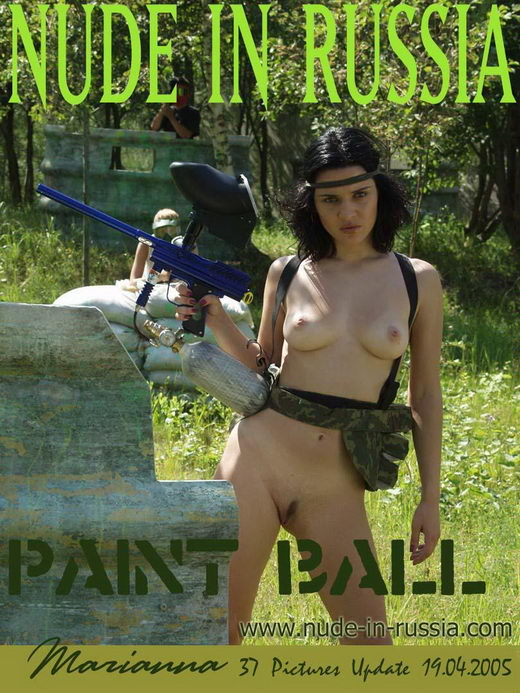 Marianna - `Paint Ball` - for NUDE-IN-RUSSIA