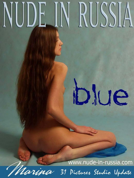 Marina - `Blue` - for NUDE-IN-RUSSIA