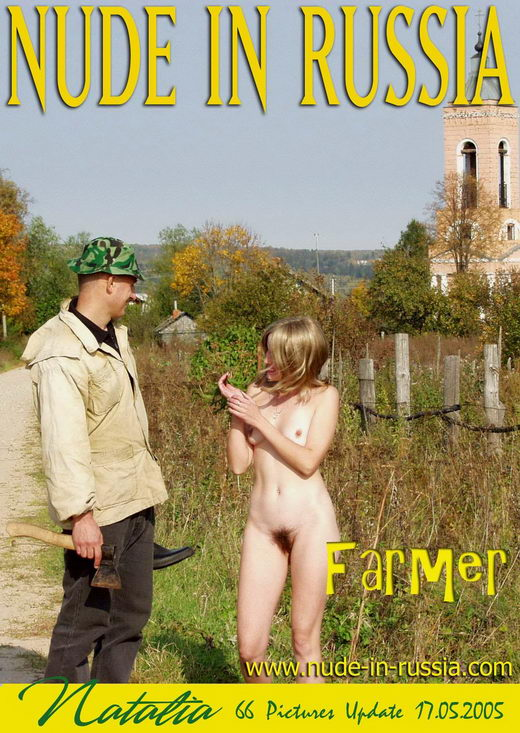 Natalia - `Farmer` - for NUDE-IN-RUSSIA