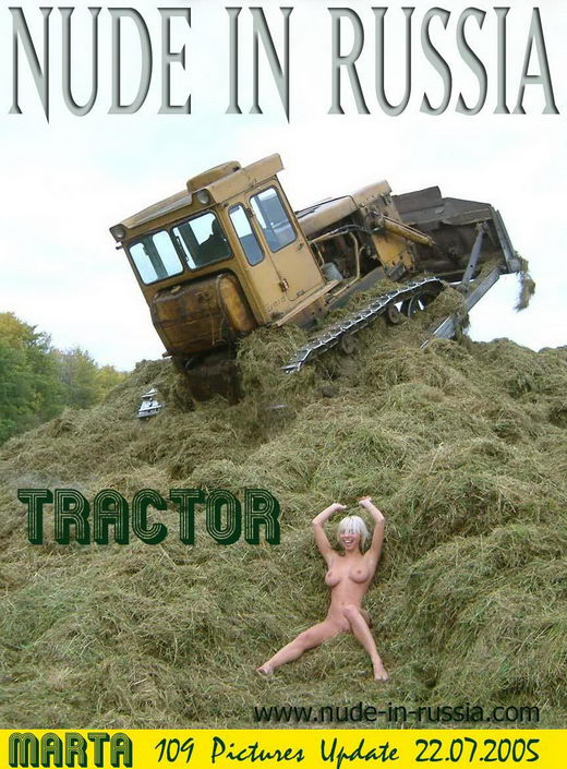 Marta - `Tractor` - for NUDE-IN-RUSSIA
