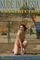 Ruzanna in Construction gallery from NUDE-IN-RUSSIA