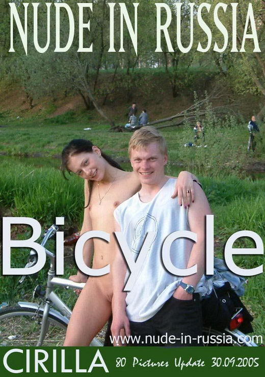 Cirilla - `Bicycle` - for NUDE-IN-RUSSIA
