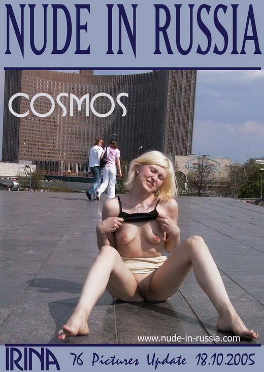 Irina - `Cosmos` - for NUDE-IN-RUSSIA